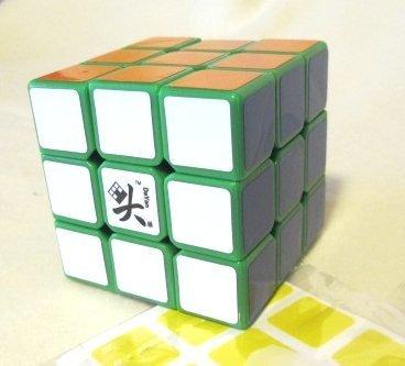 Dayan V 5 ZhanChi 3x3 Speedcube Green Twisty Puzzle Cube 3x3x3 by Dayan