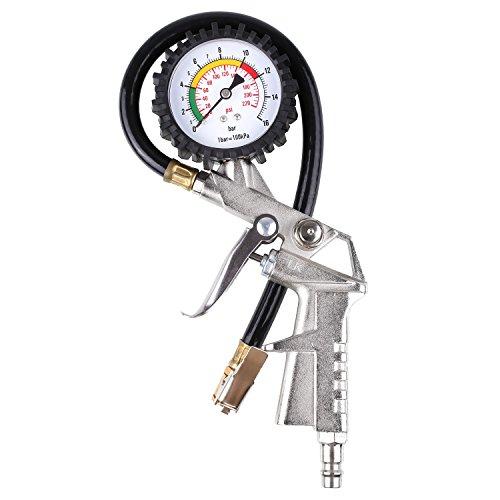 FIXKIT Indicadores de Aire para Ruedas Manómetro de Presión para Neumáticos Indicador de Presión de Neumáticos Medidor de Presión de Neumáticos