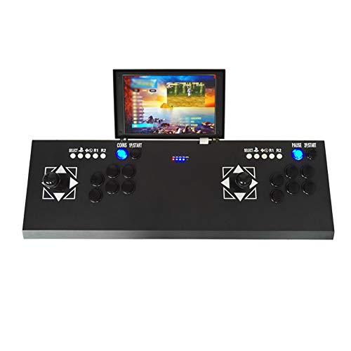 Ksruee 3D Moonlight Box 7 Jeu D'arcade pour Double Joueurs avec Écran LCD 10 Pouces Maison Machine De Combat Street Fighter TV Console De Jeux Pandora