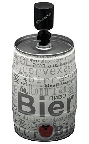 Bier Protector mit Handpumpe - Frischhalteverschluss für 5l Bierfass inkl. Gummistopfen -