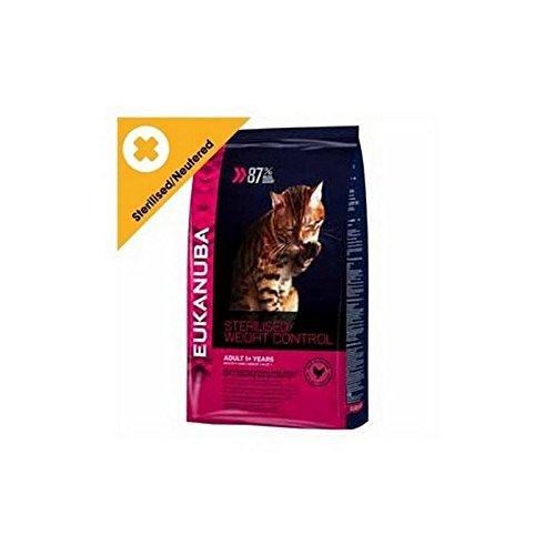 Eukanuba Sterilisiert / Gewichtskontrolle Erwachsenen Katzentrockenfutter (1,5 Kg) (Eukanuba Essen Huhn)