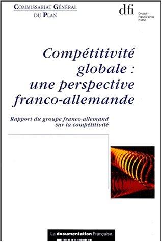 Compétitivité globale : une perspectiv...