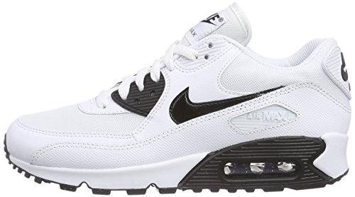 Nike Air Max 90 Essential, Damen Laufschuhe, Weiß (White/Black 110), 40.5 EU -