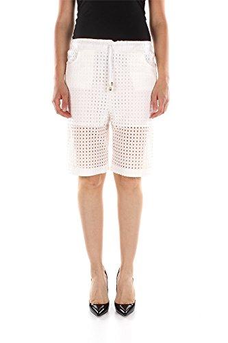 Shorts Pinko Donna Cotone Bianco 1W10F45169Z17 Bianco 40