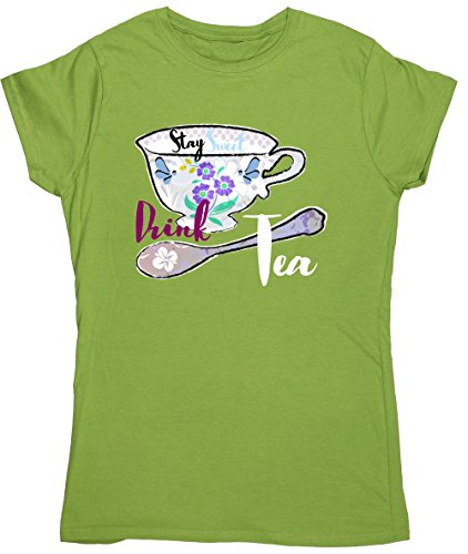 Hippowarehouse Damen T-Shirt Kiwi