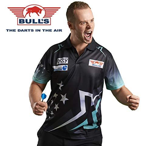 Bull´s Darts Max HOPP Maximiser Matchshirt Dart Shirt Trikot Design 2018 Dart Trikot (XS)