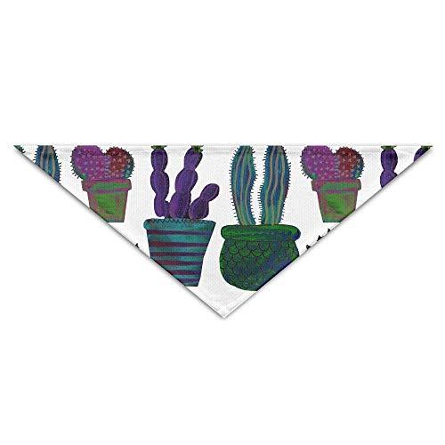 Dog Kostüm New Chinese Year - Pet Bandanas Bunte Desert Cactus Dog Bandanas Schals Dreieck Lätzchen Schals Neuheit Basic Dogs Halstuch Cat Collars