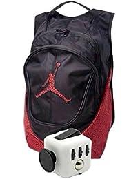 0a6c9279e5cf6 Nike Air Jordan Jumpman 23 libro zaino elefante stampa con Fidget Cube