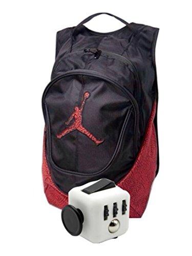 reputable site d731c f24a1 Nike Air Jordan Jumpman 23 libro zaino elefante stampa con Fidget Cube,  Bambina Donna Uomo
