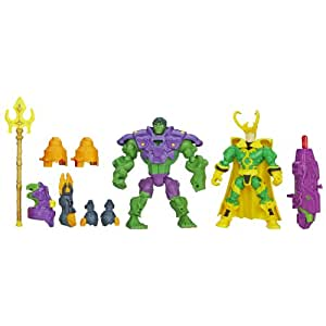 Marvel Super Hero Mashers Hulk vs. Loki Mash Pack