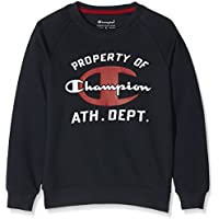Champion Bambino,  Girocollo  Auth. Fall Fleece, blu,   L,   304297_F16