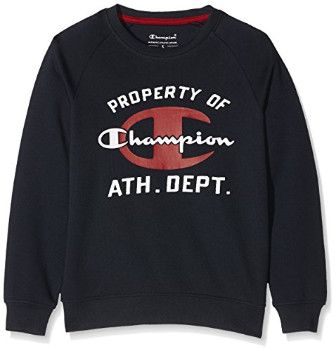Champion Bambino,  Girocollo  Auth. Fall Fleece, blu,   M,   304297_F16
