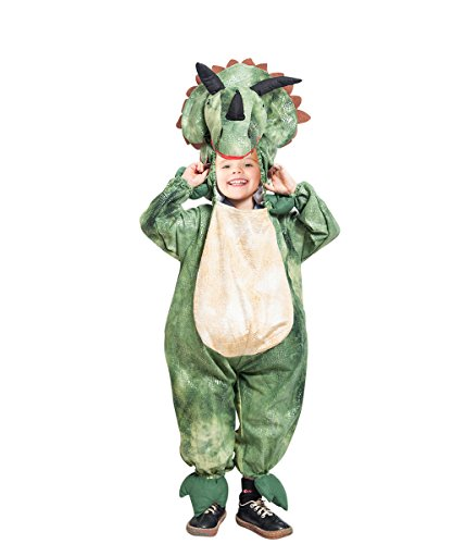 Dino- Kostüm-e Triceratops F123 Gr. 110-116, Kat. 1, Achtung: B-Ware Artikel. Bitte Artikelmerkmale lesen! Tier-e Mädchen Junge-n Kind-er Kleinkind-er Fasching-s Karneval-s Geburtstags- Geschenk-e
