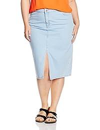 New Look Split Front, Falda para Mujer