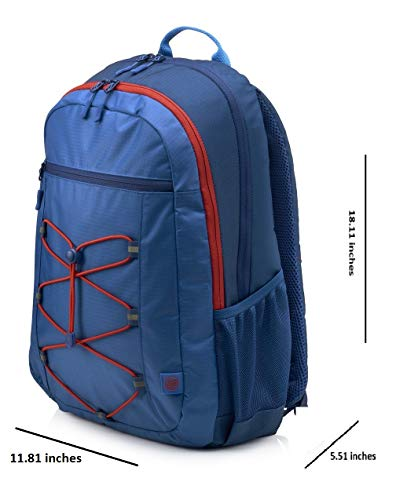 HP Active 15.6-inch Laptop Backpack (Blue/Pink) Image 5