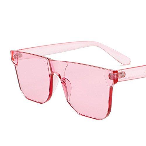 Aoligei Ozean-Sonnenbrille weiblichen Trend Sonnenbrillen EIN Stück Candy Farbe Brille Korea Mode Sonnenbrillen - Sonnenbrillen Männer Korea