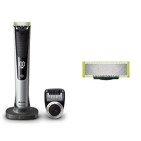 Philips OneBlade Pro QP6520/30, Trimmen, Stylen, Rasieren / Präzisionskamm für