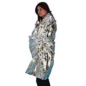 41H9HMZhvZL. SS300  - Universal Space / Emergency Survival Foil Blanket Adult