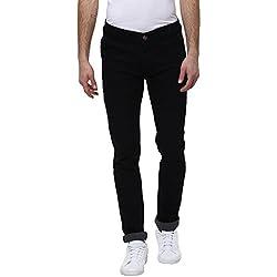 Urbano Fashion Men's Slim Fit Jeans (eps-black-28-05)