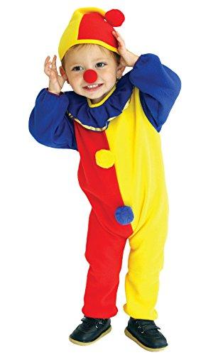 La vogue Clown Kostüm Kinder Jungen Halloween Jumpsuit Karneval Kostüm Cosplay 3-4 - Clown Junge Kleinkind Kostüm