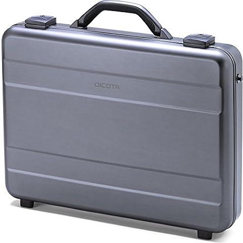 DICOTA Alu Briefcase 14-15.6 (für Notebooks bis 39,6 cm) Strapazierfähige