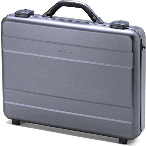 DICOTA Alu Briefcase 15-17.3 (für Notebook bis 43,9 cm) Strapazierfähige Alu-Notebooktasche