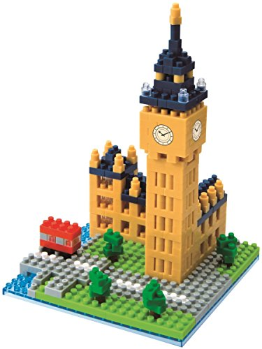 Nanoblock Juego de construcción Big Ben 46piezas