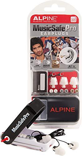 Alpine MusicSafe Pro Gehörschutz - weiß -