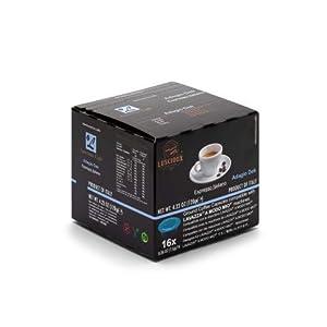 Luscioux Adagio Dek Capsule Caffè Decaffeinato Compatibili Lavazza A Modo Mio | Confezione da 12x16 (192 Capsule… 1 spesavip
