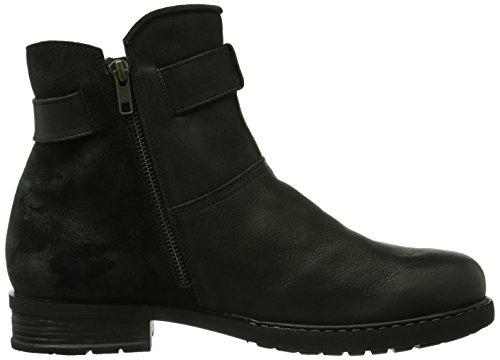 Think Mauna, Boots homme Noir (Sz/Kombi-09)