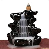 Wasser India Crafted Smoke backflow Fountain,Cone Piece with 10 nos Free Smoke Flow Scented Cone Incense