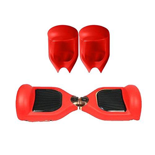 6,5 pouces Coque Housse de Protection en Silicone pour Hoverboard Scooter Auto 2 Roues Cadeau Noël Anniversaire pour Homme