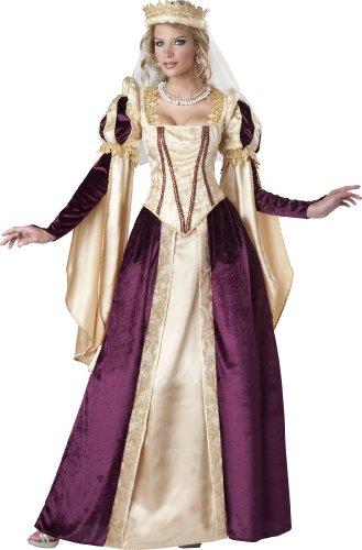 Unbekannt Aptafêtes-Kostüm-Prinzessin der - Kostüm Medievale Femme