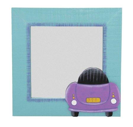 TRÄ PRESENT - Kinder Spiegel Auto 30 x 30 cm, Lagerschaden