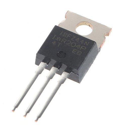 SODIAL (R) 10er IRFZ44N IRFZ44 Energie Transistor MOSFET N-Kanal-Verstaerker 49A 55V