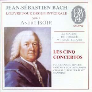 L'Intégrale des oeuvres pour orgue Vol.7, Les 5 concertos