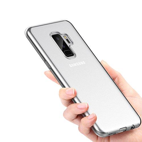 Caso Collection Crystal Cover per Samsung Galaxy S9Plus Custodia Leggero [Ultra-Sottile] Silicone Morbido Trasparente, Durevole TPU [Anti-graffio] Copertina Posteriore per Galaxy S9Plus Case