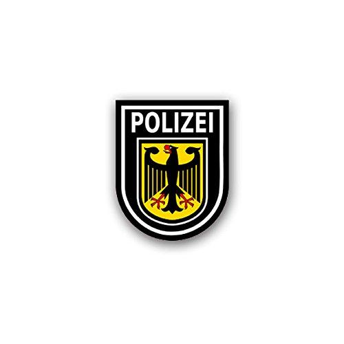 Aufkleber / Sticker - Bundespolizei BPOL Polizei des Bundes Bundesrepublik Deutschland Bund Potsdam 6x7cm#A1849