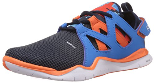 Reebok Boy's Reebok Zcut Tr Faux Indigo,Enrgy Blue,Blue Beam and Vivid Tangerine Mesh Sneakers – 3.5 Uk 41H9PRwB0SL