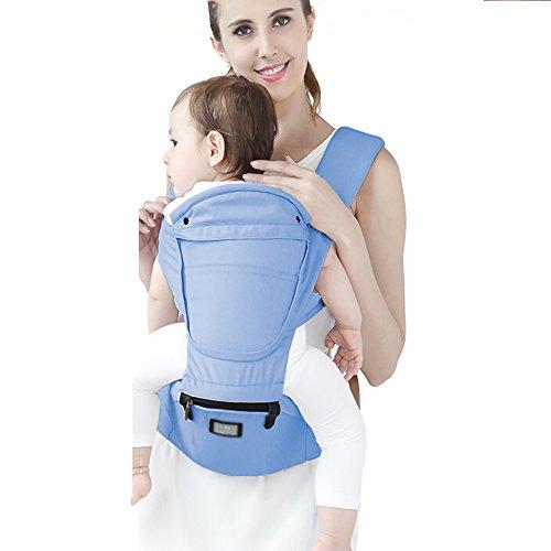 Multifunktionale Babytrage Mit Sonnenblende Neugeborene Babytrage Mit Lenden-Sitzsack...