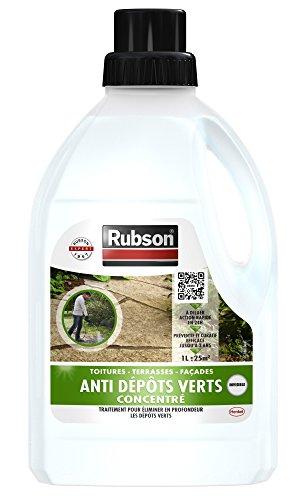 RUBSON 1800878 Stop Anti dépôts verts (anti-mousse) 1l Concentré