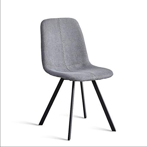 Jializl sedia da pranzo sedie in tessuto arredi lussuosi per ricevimenti sedie da pranzo imbottite sedie per sala riunioni dell'albergo ristorante con vasca da ufficio innovativa,grey