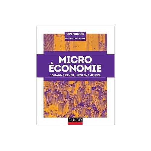 Microéconomie de Meglena Jeleva,Johanna Etner ( 25 juin 2014 )