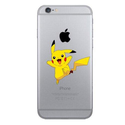 iPhone 5c Pokemon Coque en Silicone / Pikachu Couverture de Gel pour Apple iPhone 5C / Protecteur D'écran et Chiffon / iCHOOSE