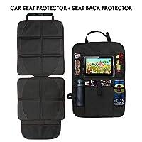 55d99ab013 Coprisedile Seggiolino Auto e Protezione Sedili Auto Bambini Organizer con  Pocket iPad Cozywind Proteggi Sedile Auto Seggiolino per Bambini Posteriore  ...