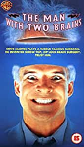 The Man With Two Brains [VHS] [1983]