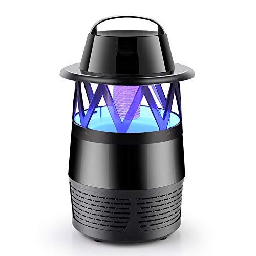 EFGS UV Insektenvernichter, USB elektrisch Mückenfalle, Transportable Campinglampe für Innen und Außen,Black