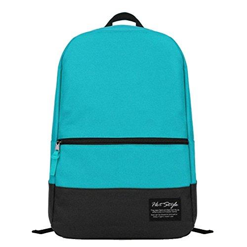 Artone Harajuku Caramella Colore Casual Zaino Grande Capacità Scuola Daypack Fit 15