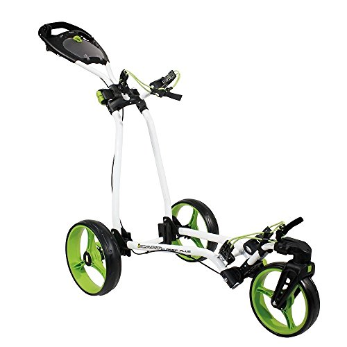 2014 Masters Golf iCart Classic Plus 3 Wheel Golf Trolley / Cart White/Green