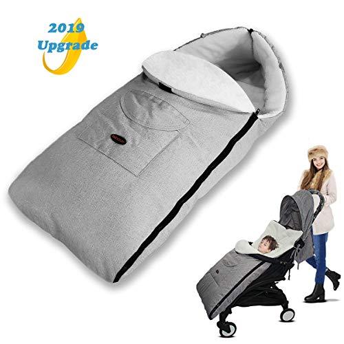 AUVSTAR Saco de Dormir Térmico Universal para Bebé,Saco para silla de Paseo,Sacos de Abrigo para Carritos,Mantas...
